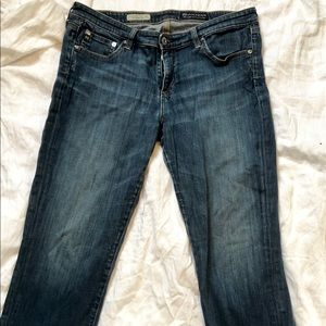 AG- Adriano Goldschmied copped jeans